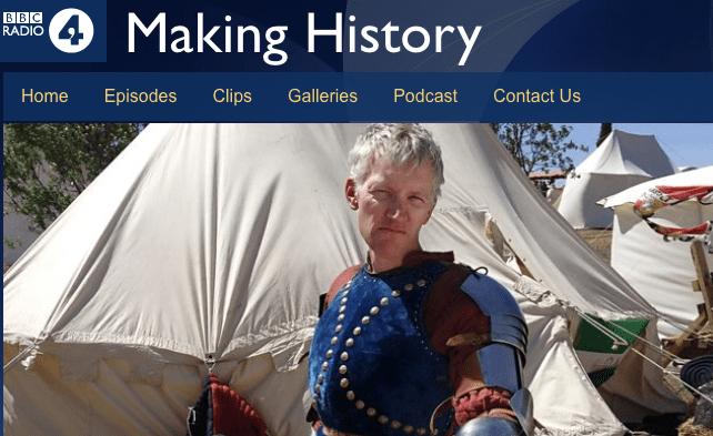 Making History BBC R4 webpage1